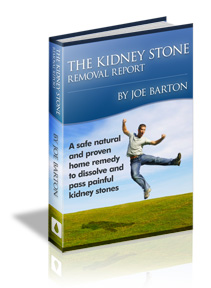 how to get rid of kidney stones at home